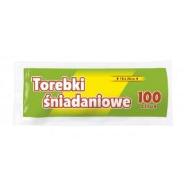 NN Torebki śniadaniowe 16x24 100szt