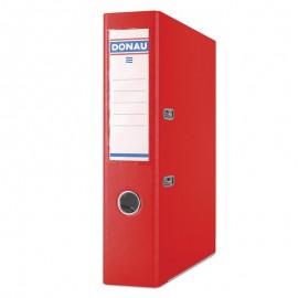 Segregator DONAU Premium, PP, A4/75mm, czerwony